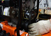 Ремни снегоуборщика: принцип работы и замена
