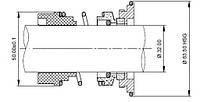 Торцовое уплотнение к насосу  ALFA LAVAL SOLIDC 9611-92-2454 9611922454