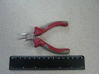 Бокорезы прецизионные комбинированные с накладками на рукоятках из двух материаллов 115  (Intertool)