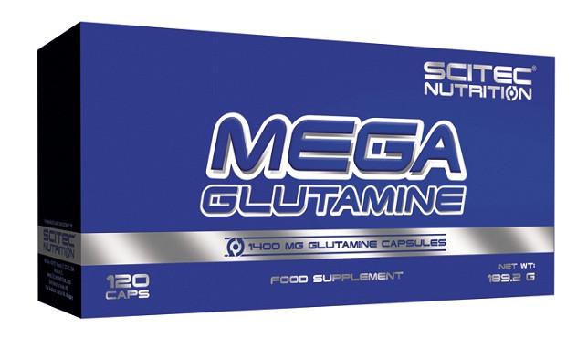SN Mega Glutamine 90 кап