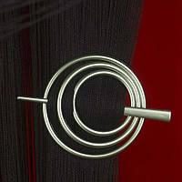 Заколка для штор нитей Круг №9 Оливковый