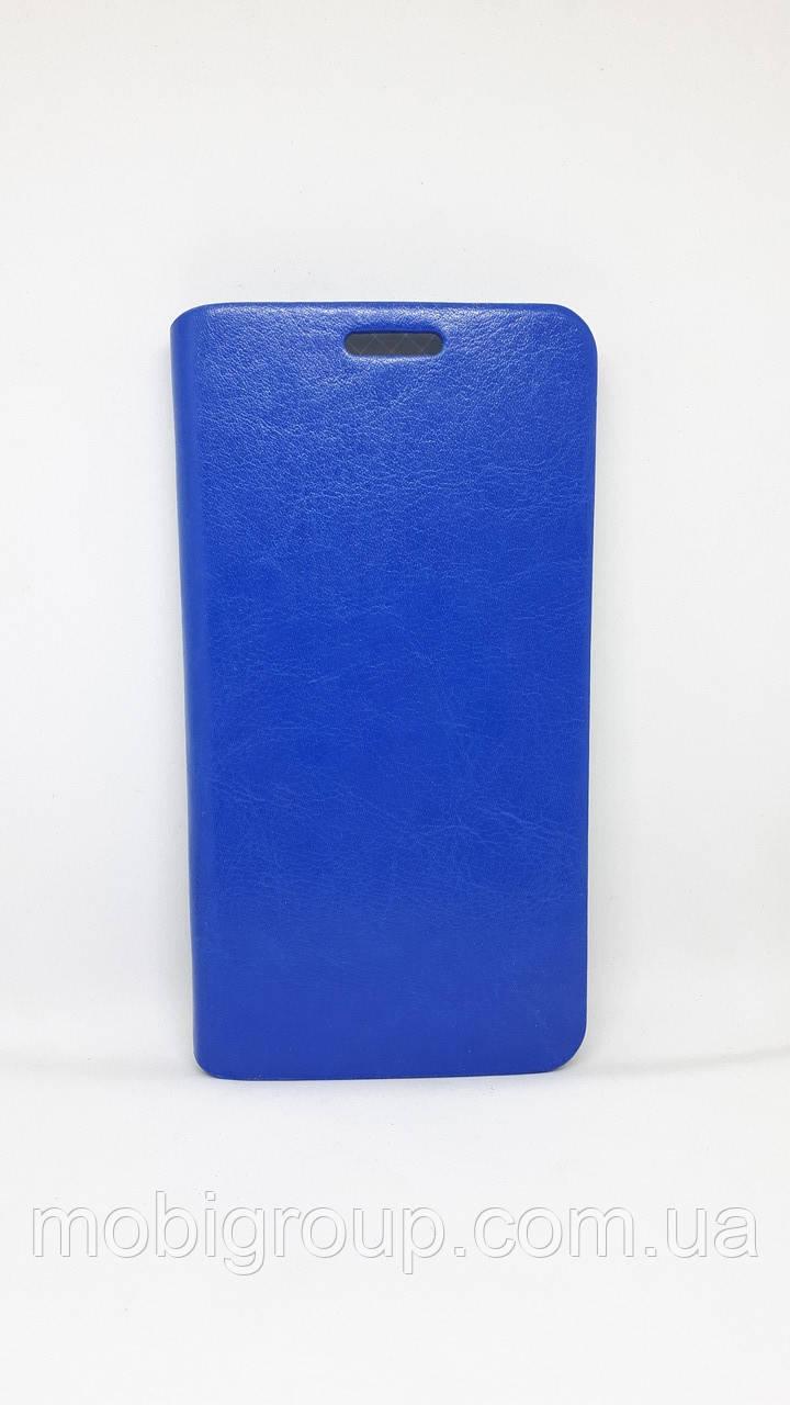 Книжка-чехол кожа для Samsung A5 (2015), Blue