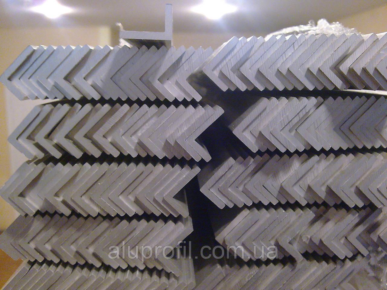 Алюминиевый профиль — уголок алюминиевый 15х10х2 Б/П