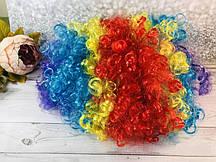 Парик клоуна цветной