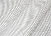 Вафельная белая ткань 240г/м2