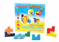 """Игра """"Собери 3D пазл"""" (книга + кубики)"""