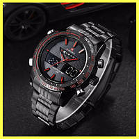 Мужские спортивные часы Naviforce Army 9024 + Подарочная коробка для часов 04a8f4d56216f