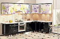 """Кухня """"Хай-тек с цветной печатью"""" KX-489"""