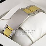 Мужские наручные часы Emporio Armani Quartz Silver Gold White Эмпорио Армани качественная люкс реплика, фото 3