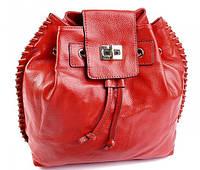 890UAH. 890 грн. В наличии. Женский кожаный рюкзак 1165DZ Red кожаные  рюкзаки купить ... 40f2bd597b9