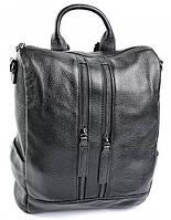 950UAH. 950 грн. В наличии. Женский кожаный рюкзак 1827 Black кожаные  рюкзаки купить ... 37763e40262