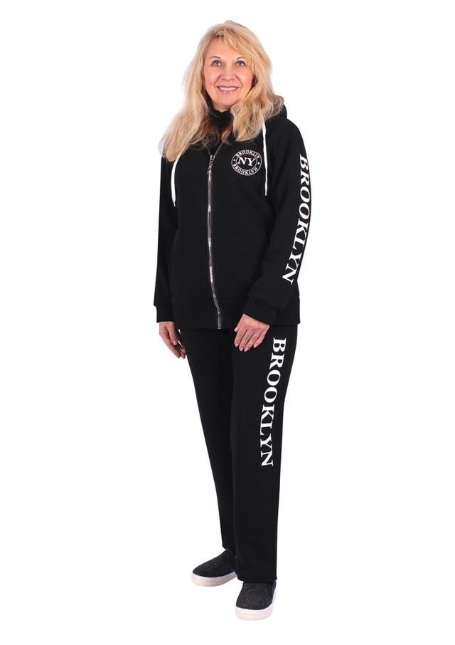 женский спортивный костюм Бруклин на молнии