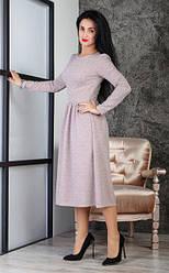 Теплое женское платье из ангоры