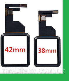Apple Watch 38mm, Watch 1 38mm, Watch 38mm Series 1 Тачскрин (сенсор) черный