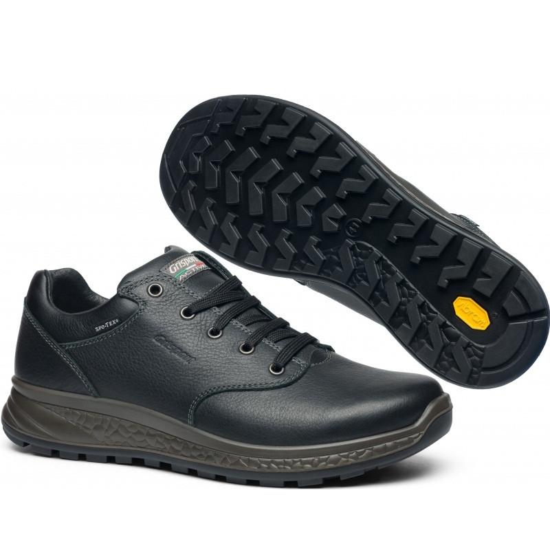 Полуботинки мужские Grisport active 14001 (кожаные, осень-зима, непромокаемые, мембрана, короткие, гриспорт)