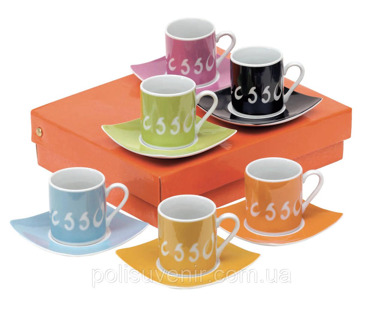 Набір чашок для еспрессо Дольче Віта
