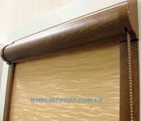 Тканевые ролеты закрытого типа на окна
