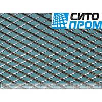 Просечно-вытяжной лист, черная сталь, ромбическая форма ячейки TC MR22/12x2x1,5/1000x2000, Код товара: 02521
