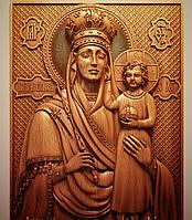"""Церковная утварь - Резная икона из дерева """"Призри на смирение"""", фото 1"""