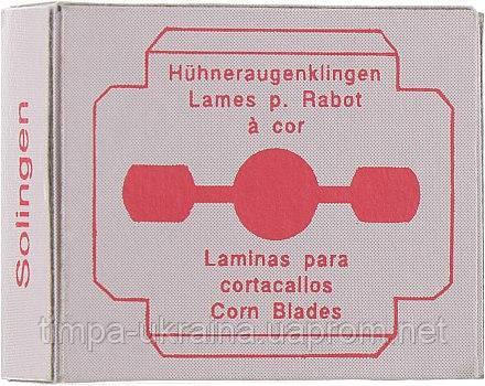 Лезвия для педикюрной бритвы Solingen (уп. 10 шт), фото 2