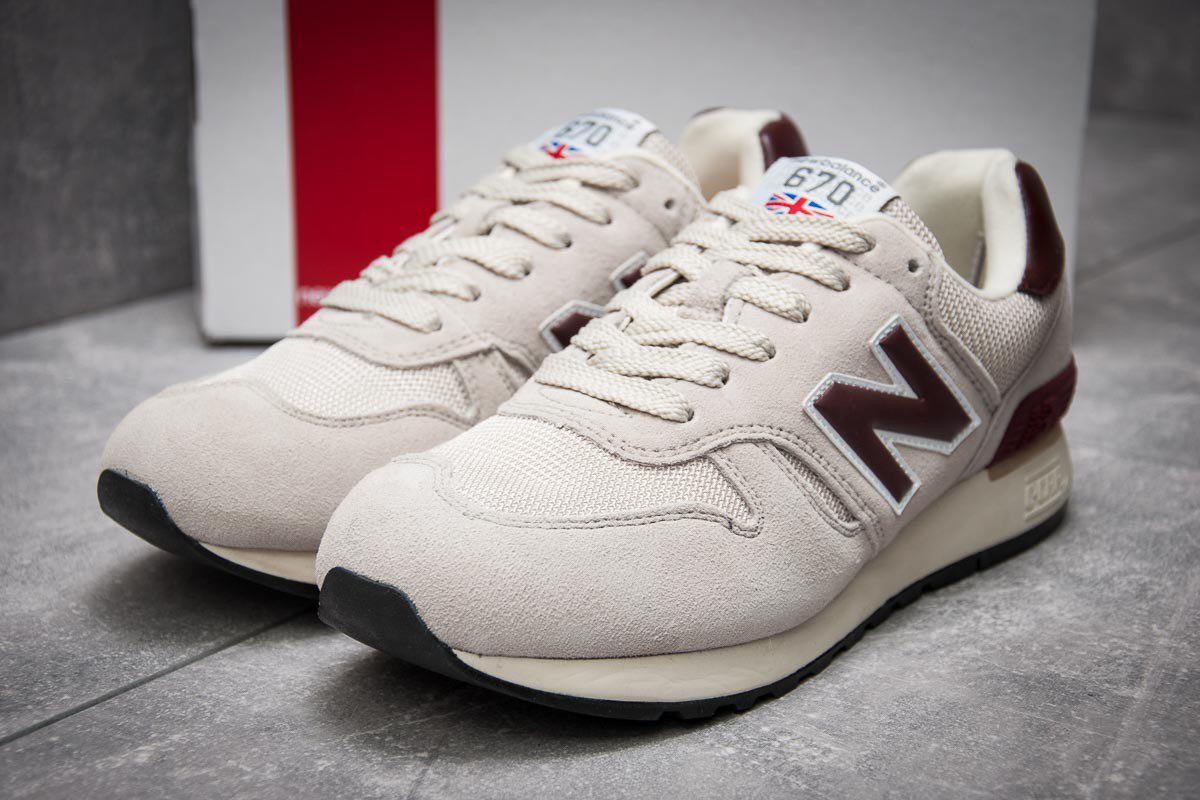 Мужские кроссовки New Balance 670 White