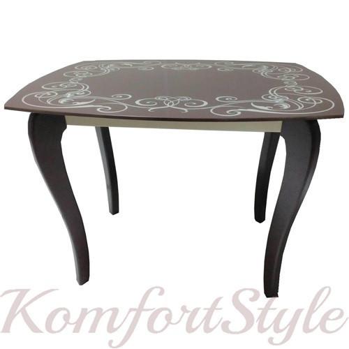"""Стол обеденный на деревянных ножках """"Классик 2"""""""