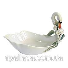 """Конфетница pavone """"Лебедь"""", 27*17*15 см"""