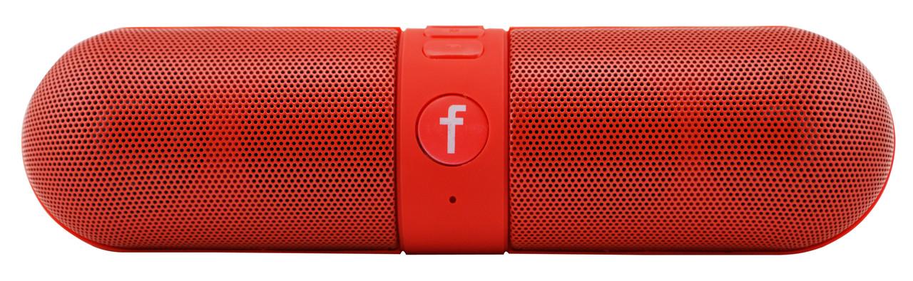 Портативная bluetooth колонка Dellta B6\F6 красная