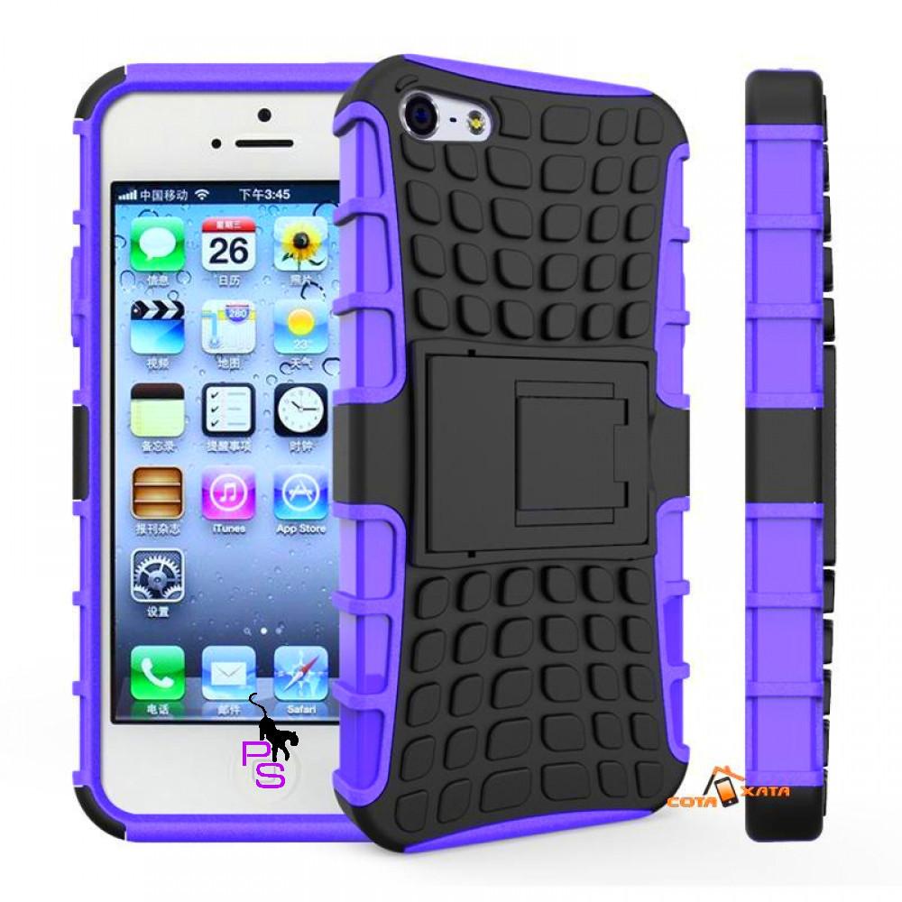 Крутой защитный бампер чехол для смартфона телефона Iphone Айфона 5 5s