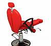 Педикюрное кресло ZD-346 цвет красный, фото 2