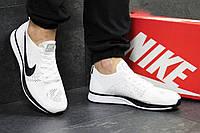 Мужские кроссовки Nike Flyknit Racer White