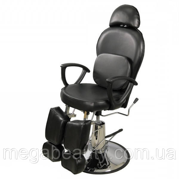 Педикюрное кресло ZD-346А черный цвет