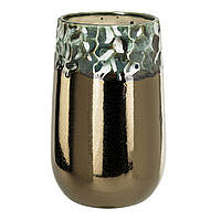 Ваза BLING vase round high l copper 670621-PT PTMD Collection