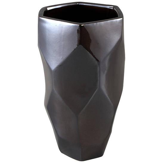 Ваза DAVIS vase l silver_nordic_shape 672251-PT PTMD Collection