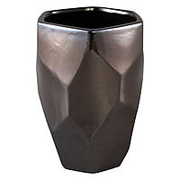 Ваза DAVIS vase m silver_nordic_shape 672250-PT PTMD Collection