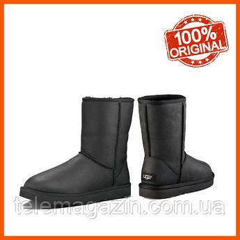 Мужские угги UGG Classic Short Metallic Black