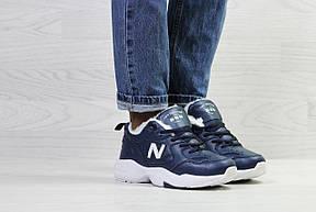 Зимние женские кроссовки New Balance 608,темно синие, фото 2