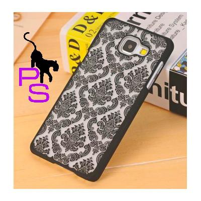 Черный тату чехол бампер для смартфона телефона Iphone Айфона 5 5s
