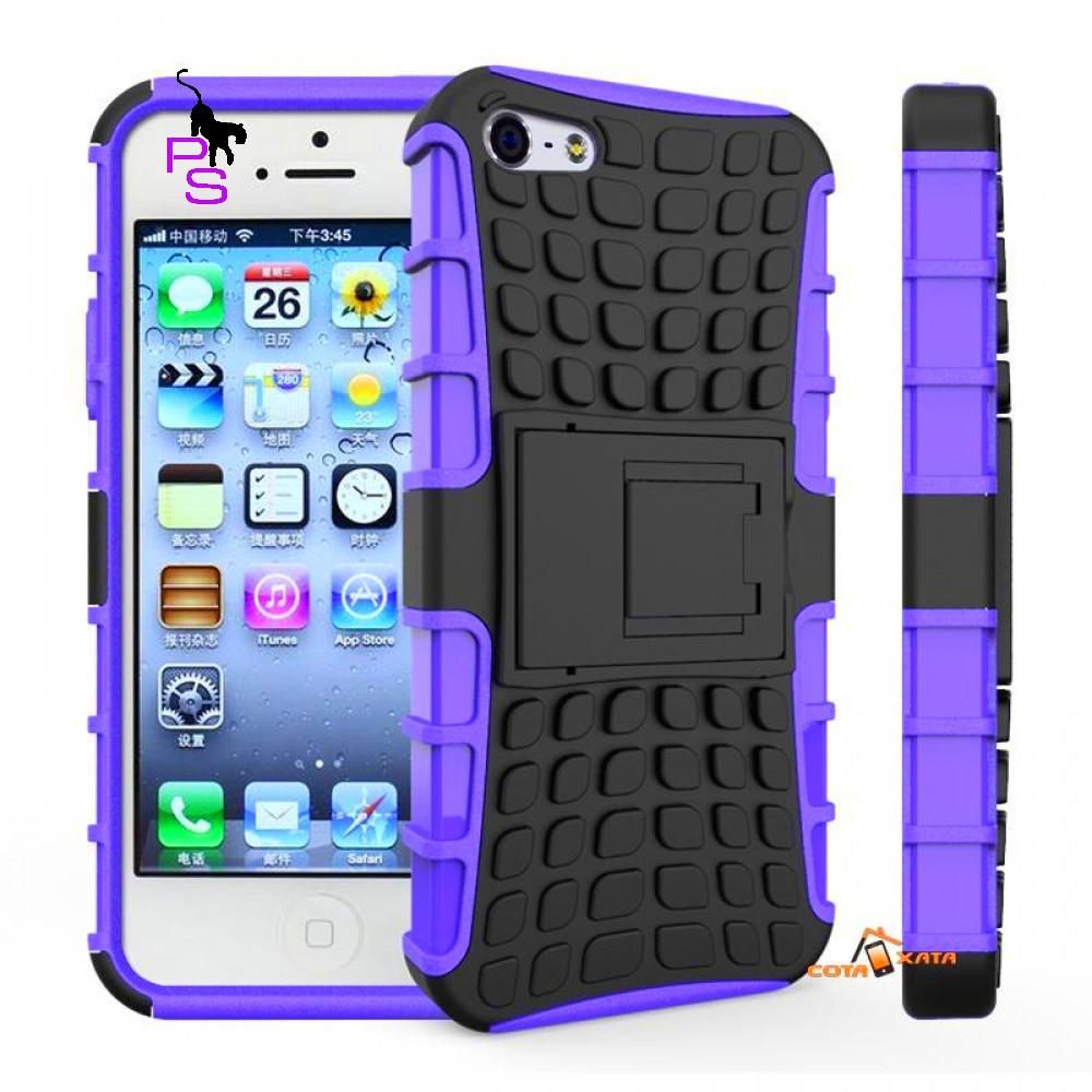 Крутой защитный твердый бампер чехол кейс для смартфона телефона Iphone Айфона 5 5s