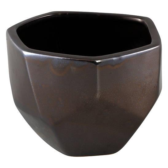 Кашпо DAVIS Pot m silver_nordic_shape 672247-PT PTMD Collection