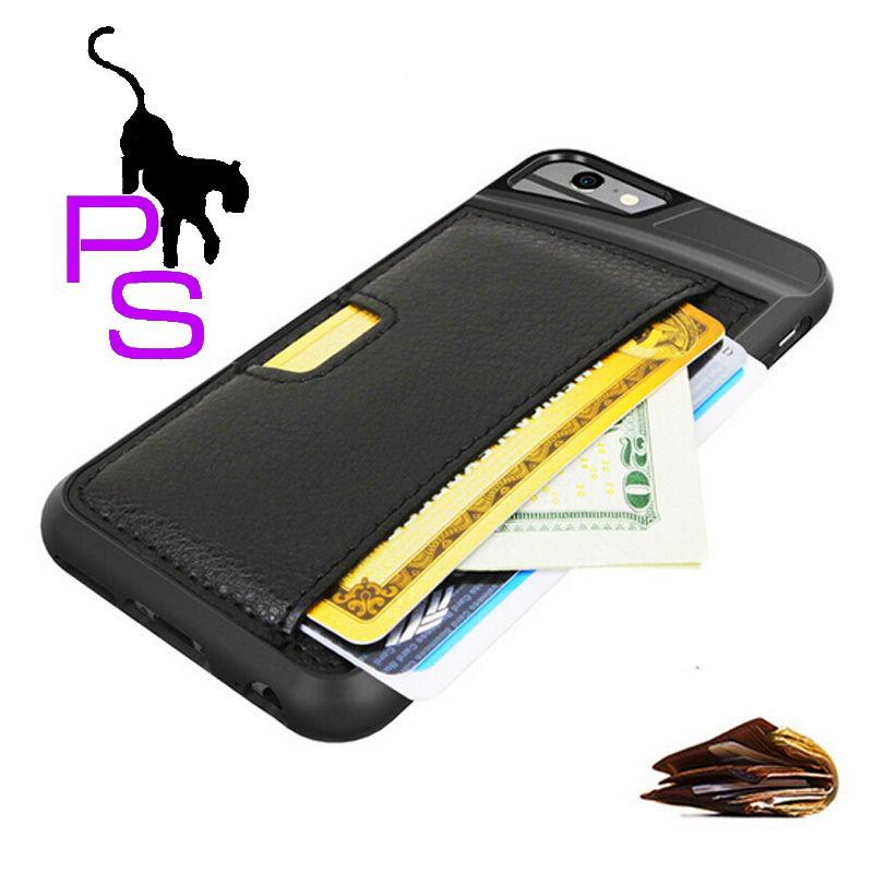 Кожаный бампер чехол кейс для смартфона телефона Iphone Айфона 7 Плюс Plus