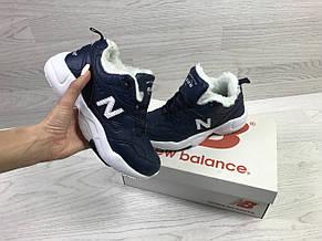 Зимние женские кроссовки New Balance 608,темно синие, фото 3