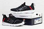 Мужские кроссовки Fila Black/White, фото 6