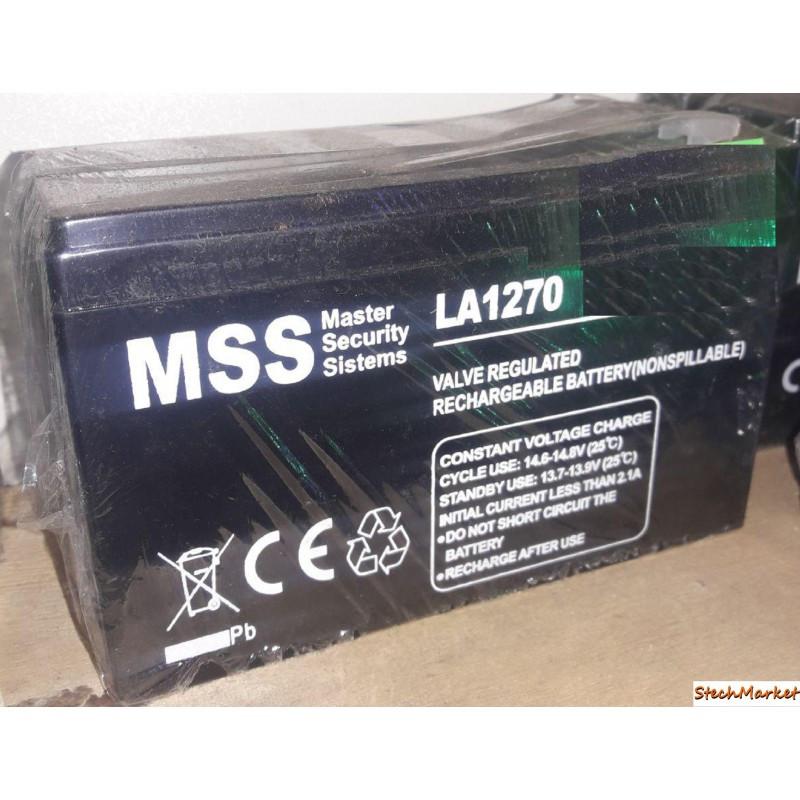 Аккумулятор MSS LA 1270 12v/7Ah 6fm7 (mastak)
