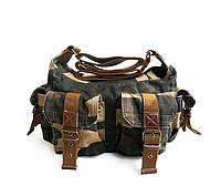 Молодежная сумка Virginland | хаки | камуфляж