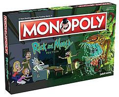 Настольная игра Monopoly Rick and Morty Монополия Рик и Морти BL28/11/15