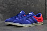 Мужские кроссовки Adidas Hamburg Blue/Red