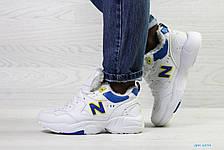 Зимние женские кроссовки New Balance 608,белые с синим, фото 2