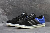 Мужские кроссовки Adidas Hamburg Black/Blue