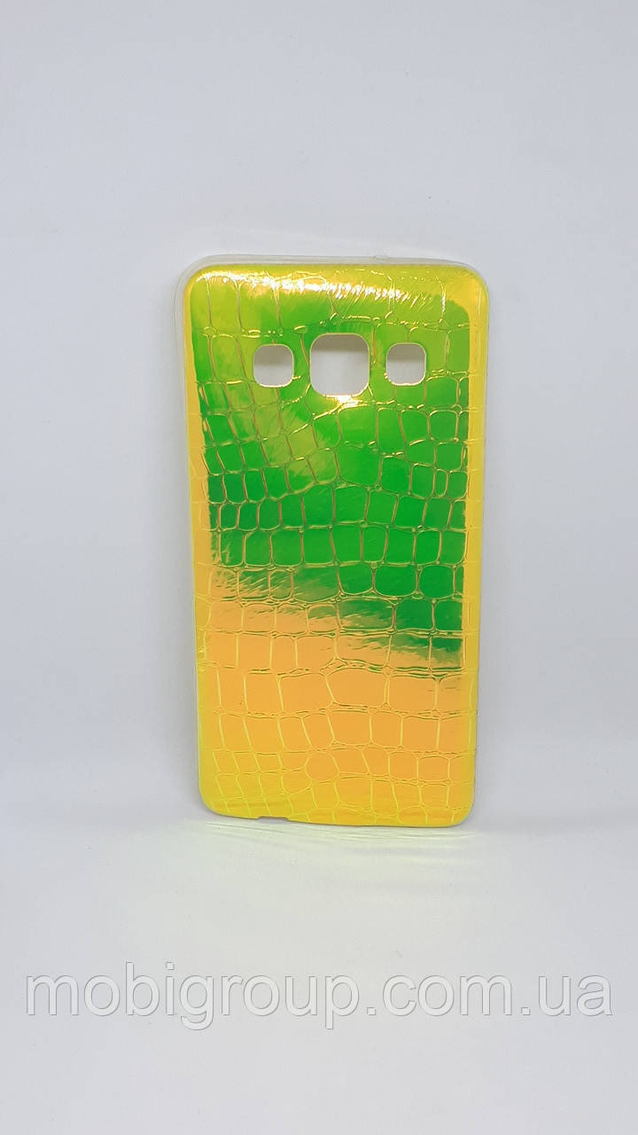 Чехол силиконовый Хамелеон для Samsung A3 (2015), Green
